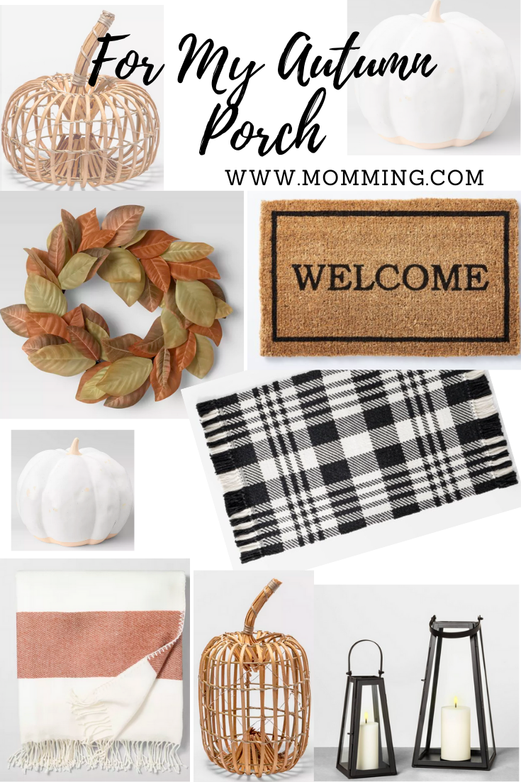 Autumn Front Porch Decor