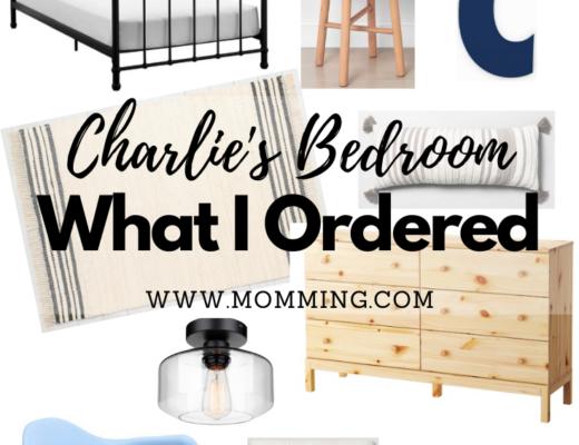 Charlie's Bedroom Mood Board