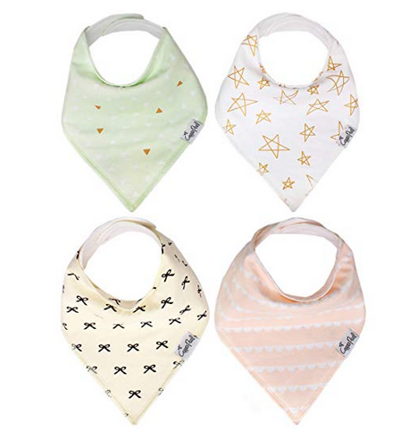 Copper Pearl Drool bibs