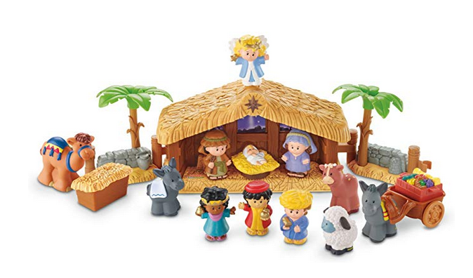 Fisher Price Little People Christmas Story