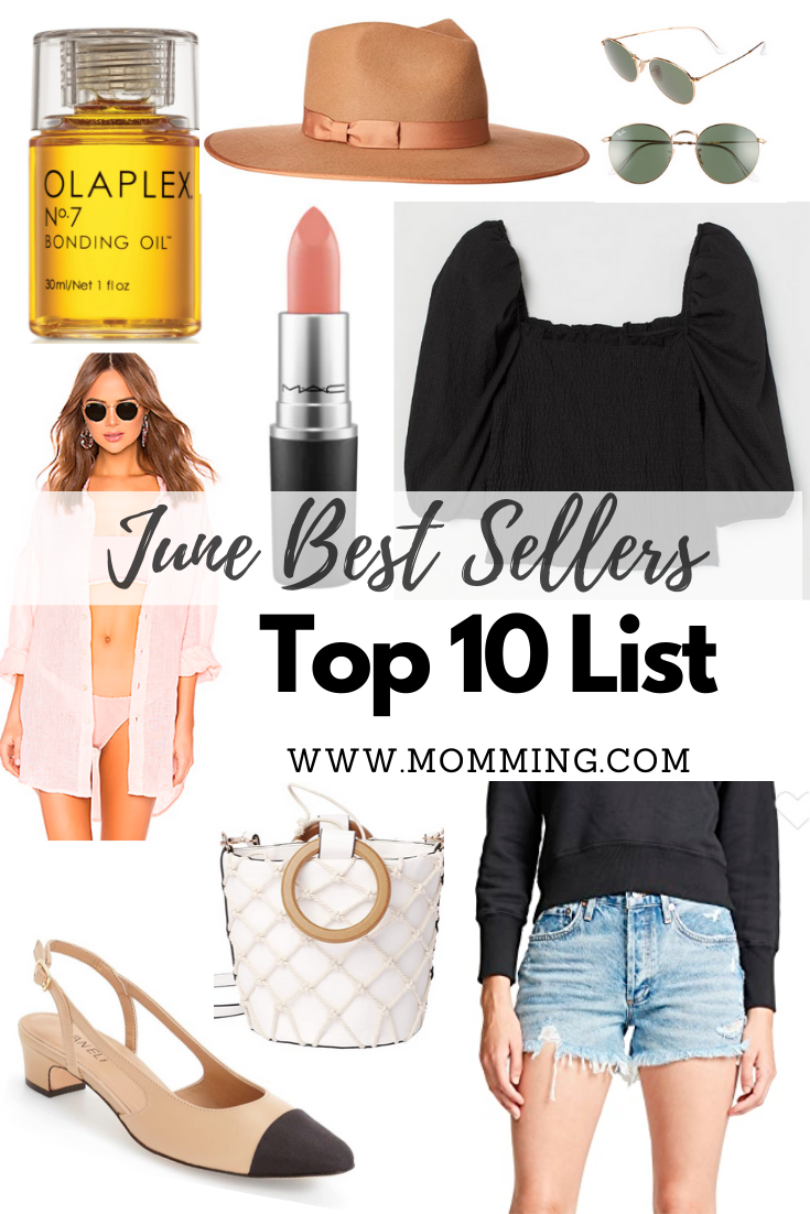 June Best Sellers