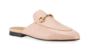 Pink Gucci Mules