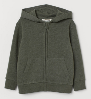 Hooded Jacket green