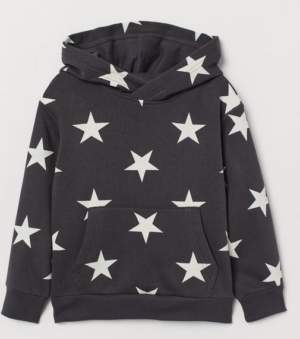 Star Hooded Sweater