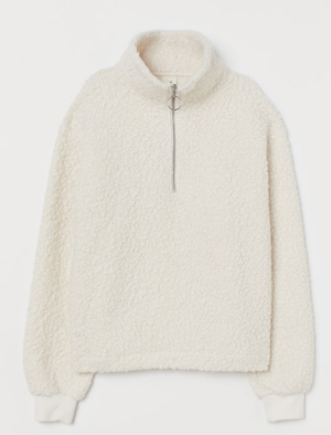 H&M Shearling Sweater