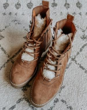Designer Dupe Boots via Target