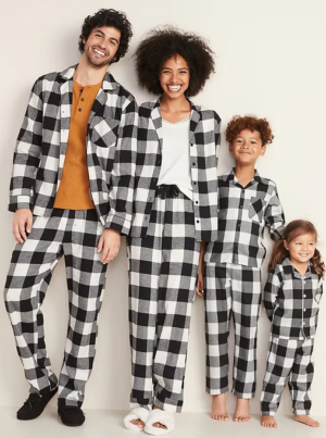 Buffalo Plaid Old Navy Pajamas