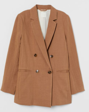 H&M Double Breasted Jacket