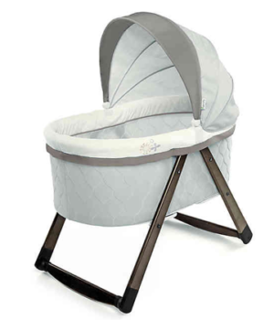Ingenuity FoldAway Rocking Wood Bassinet