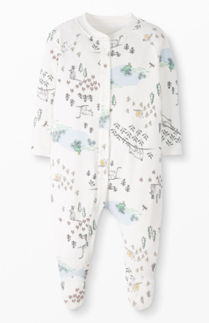 Hanna Andersson Footed Pajamas