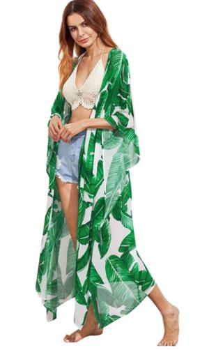 Sweatyrocks Swim Kimonop Cover Up