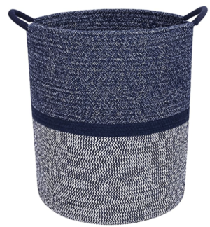 Premium Cotton Rope Laundry Basket