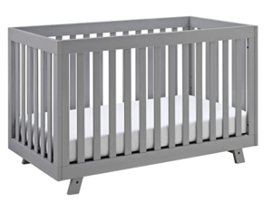 Storkcraft Beckett 3-in-1 Convertible Crib Pebble Gray