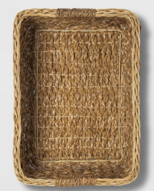 Wicker Pantry Organizer Baskets