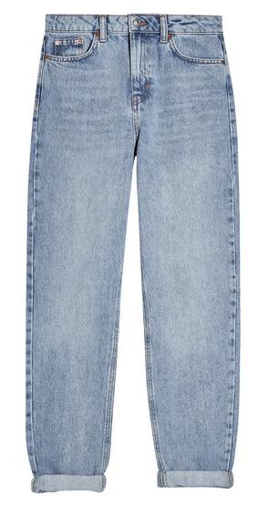 Topshop Bleach Mom jeans