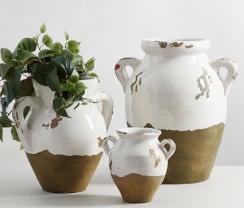 Tuscan Pottery Barn Vase