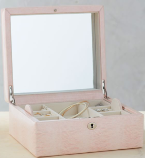 Mckenna Personalized Jewelry Box