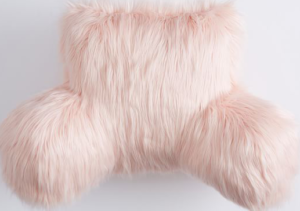 Faux-Fur Lounge Around Pillow