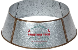 Galvanized Metal Tree Collar