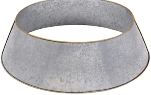 Galvanized tree collar