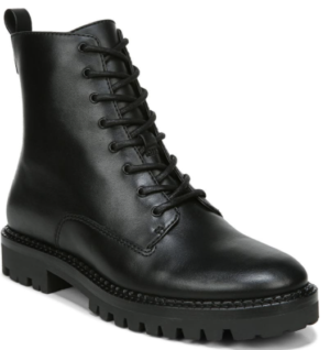 Cabria Lug Water Resistant Lace Up Boot