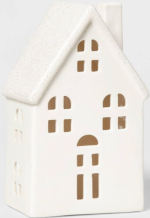 Tall ceramic house