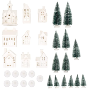 Mark Feldstein Winter Village