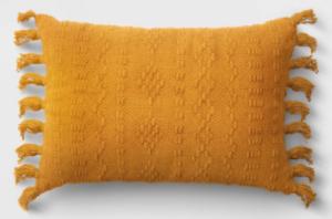 Mustard Lumbar pillow