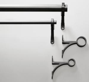 Antique Bronze Cutrain Rod
