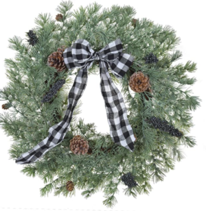 Farmhosue wreath
