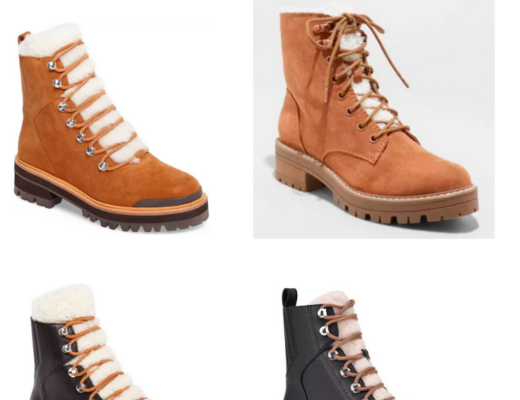 Splurge vs. Steal Shearling Boots