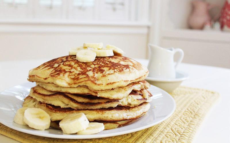 fluffy banana pancake recipe